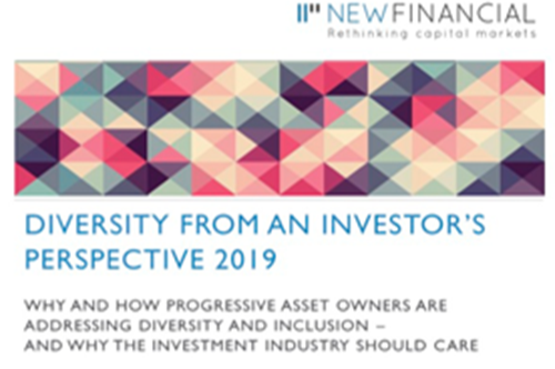 Diversity from an Investor's Perspective 2019