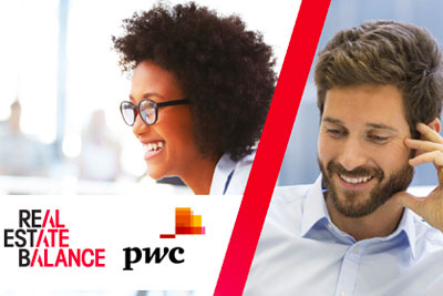 Real Estate Balance PwC survey report 2017 cover